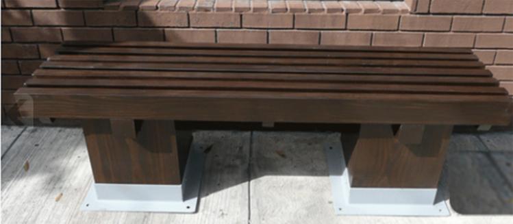 Bancas de madera para jard n for Bancas de madera para jardin